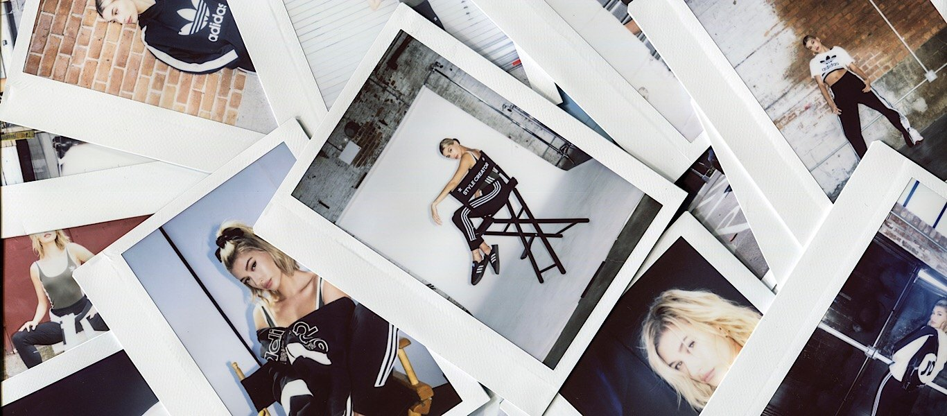 Hailey Baldwin x adidas Originals