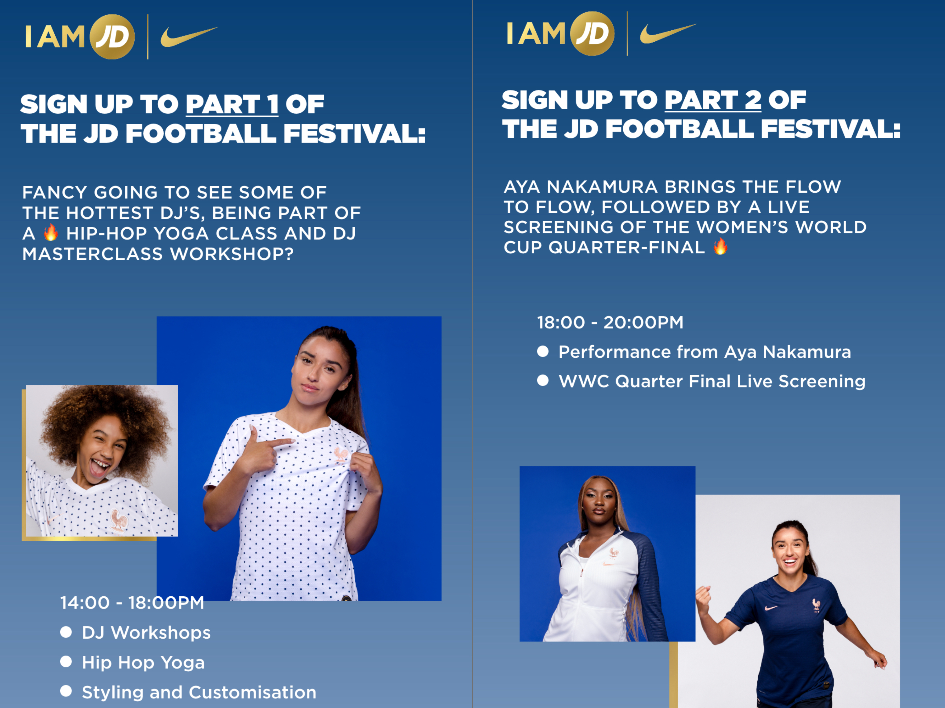 competition details - JD football festival